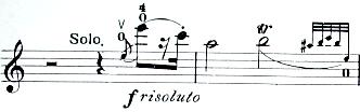 ベリオ ヴァイオリンコンチェルト第九番1