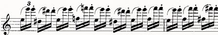 ベリオ ヴァイオリンコンチェルト第九番5