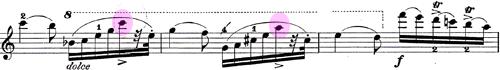 ベリオ ヴァイオリンコンチェルト第九番6
