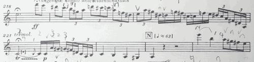 マーラー ピアノ四重奏曲1楽章 クライマックス