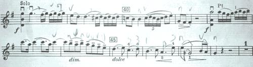 モーツァルト 協奏曲第3番1楽章1