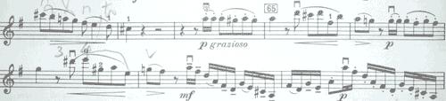モーツァルト 協奏曲第3番1楽章2