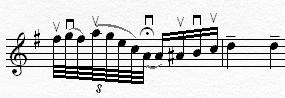 モーツァルト 協奏曲第3番1楽章4