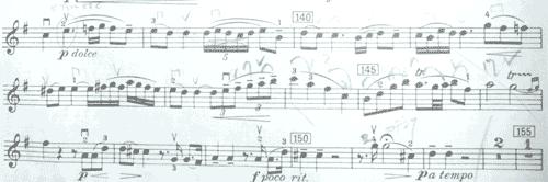 モーツァルト 協奏曲第3番1楽章3