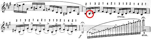 ローデ 協奏曲第7番 地獄のセカンドポジション