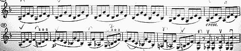 ベートーベン スプリングソナタ1楽章1